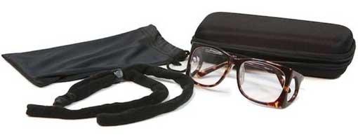 estuche y cordon de las gafas plomadas 52