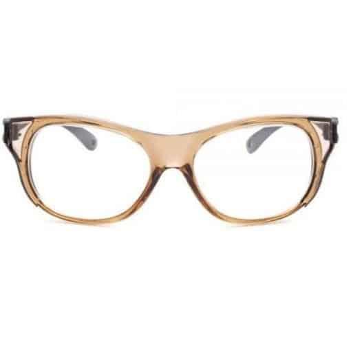 nueva gafas plomadas con una lente amplia