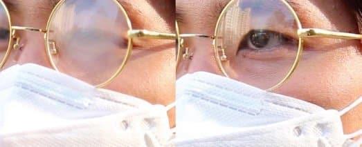 gafas empañadas