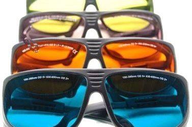 Gafas láser para protegernos de las diferentes longitudes de onda
